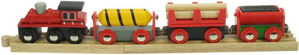 Supplies Train BJT183 - wooden trains - educationaltoys.ie
