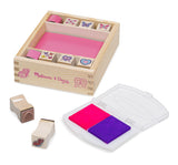 Melissa & Doug butterfly hearts stamp set - educationaltoys.ie