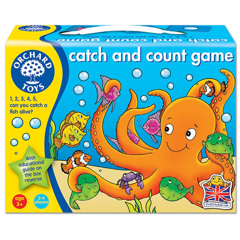 Catch & Count Game (Orchard Toys) - educationaltoys.ie