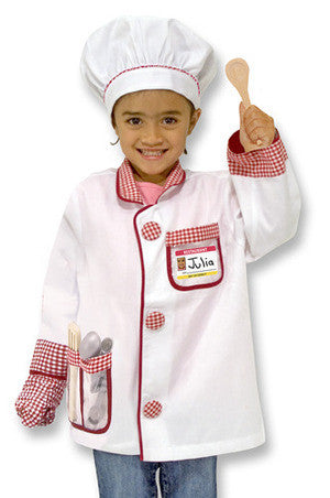 Melissa & Doug Chef Role Play Costume - educationaltoys.ie