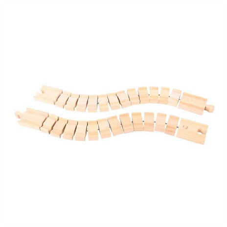 Crazy Track BJT164 - wooden track - educationaltoys.ie