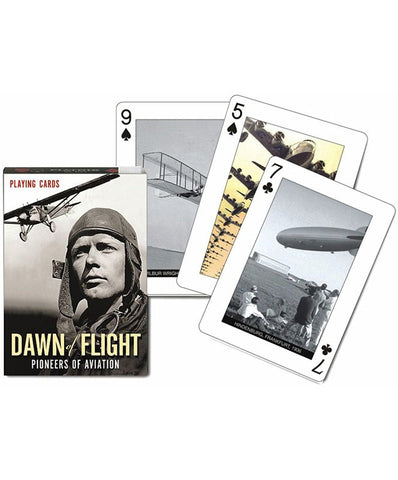 Dawn Of Flight Playing Cards - educationaltoys.ie
