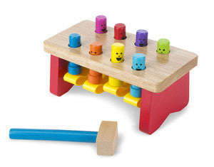 Melissa & Doug Delux Pounding Bench - educationaltoys.ie