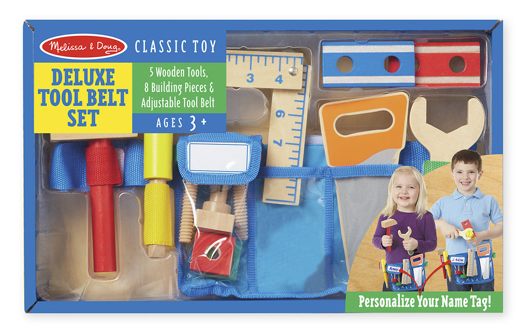 Melissa & Doug Delux Tool Belt - educationaltoys.ie