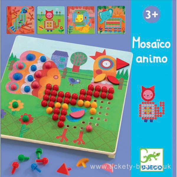 Djeco Animo Mosaico - educationaltoys.ie