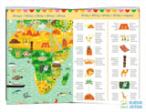 Djeco Around The World Observation Puzzle 200 pce - educationaltoys.ie