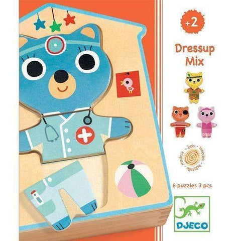 Djeco Dress Up Puzzle DJ01678 - educationaltoys.ie