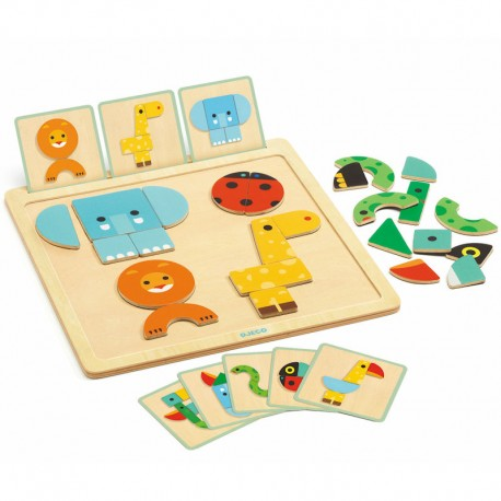 Djeco Geo Basic Magnetic Game - educationaltoys.ie
