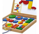Djeco Geoform Magnetic Shapes Game - educationaltoys.ie