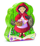 Djeco Silhouette Puzzle Little Red Riding Hood 36 pce - educationaltoys.ie