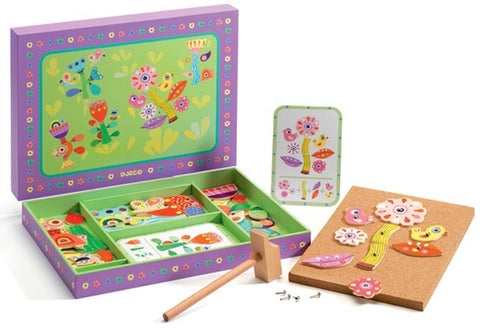 Djeco Garden Tap Tap Game - educationaltoys.ie