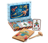 Djeco Space Tap Tap Game - educationaltoys.ie