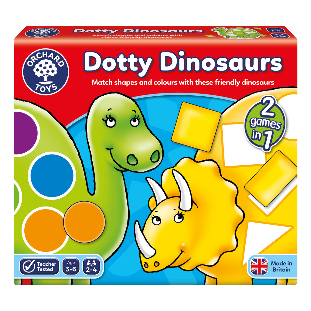 Orchard Toys Dotty Dinosaurs -educationaltoys.ie