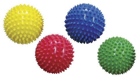 Edushape 10cm Sensory Balls Pack 4 - educationaltoys.ie