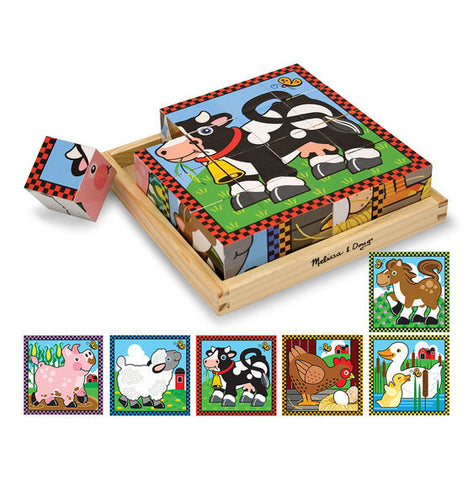 Farm Cube Puzzle - educationaltoys.ie