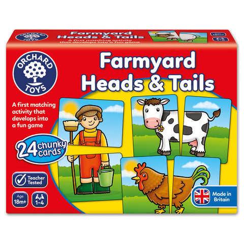 Orchard Toys Farmyard Heads & Tails - educationaltoys.ie