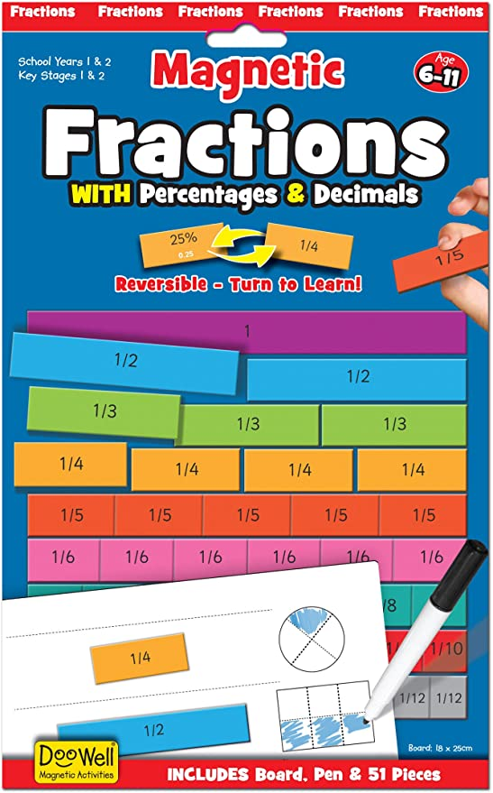 Fiesta Magnetic Fractions - educationaltoys.ie