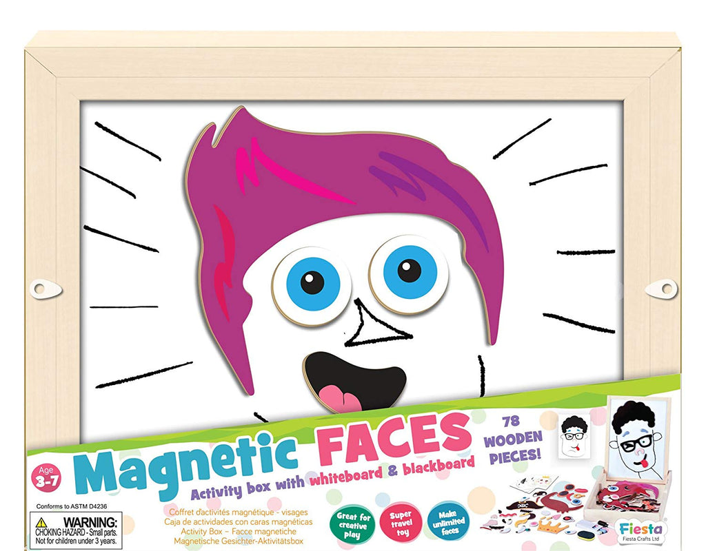 Fiesta Faces Activity Box - educationaltoys.ie