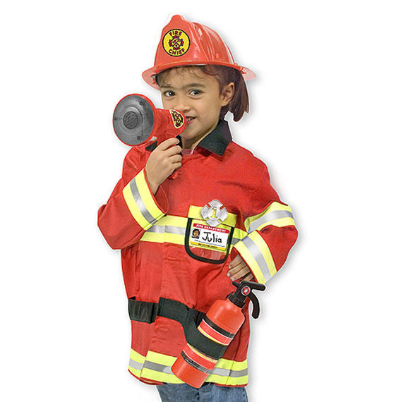 Melissa & Doug Fire Chief Costume - Educationaltoys.ie