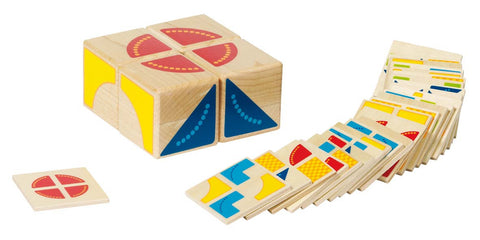 Goki Kubus Wooden Puzzle Game - educationaltoys.ie