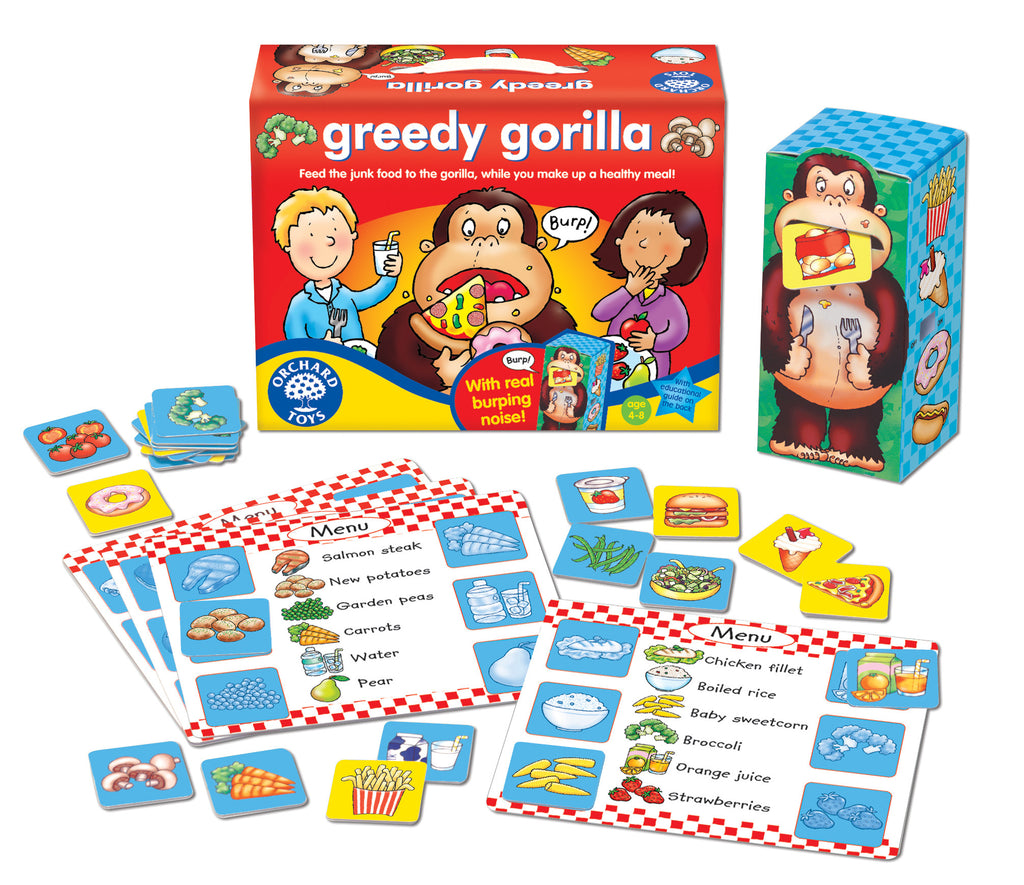Orchard Toys Greedy Gorilla - educationaltoys.ie