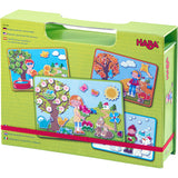 HABA Magnetic Game Box Seasons 30338620. - educationaltoys.ie