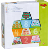 HABA Numbers Farm Building Blocks 305158 - educationaltoys.ie