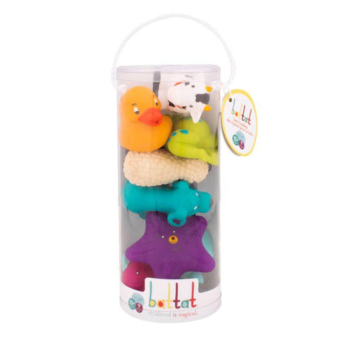 Halilit Bath Toys (9 pieces) - educationaltoys.ie