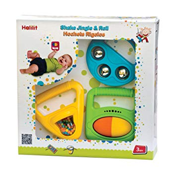 Halilit Musical Shapes Gift set - educationaltoys.ie