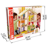 Hape All season house furnished E3401 - educationaltoys.ie
