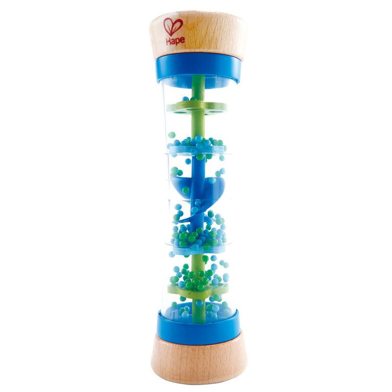 Hape Beaded Raindrops Blue - educationaltoys.ie