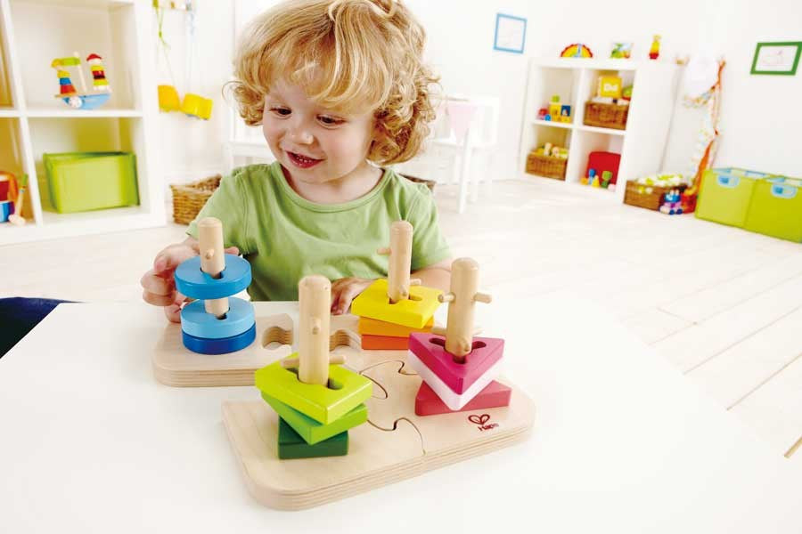 Hape Creative Peg Puzzle - Educationaltoys.ie