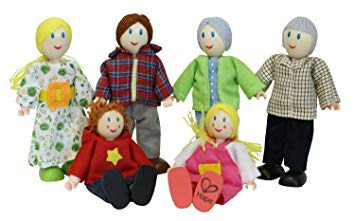 Happy Doll Family E3500 - educationaltoys.ie