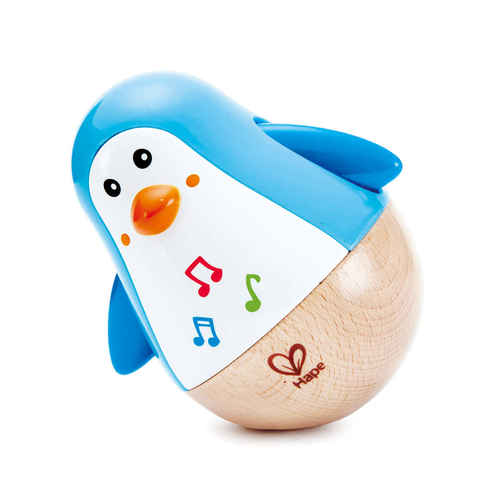 Hape Penguin Musical Wobbler - educationaltoys.ie