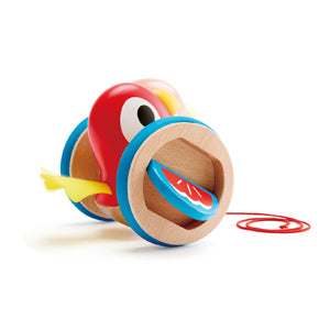 Hape Pull Along Bird - educationaltoys.ie