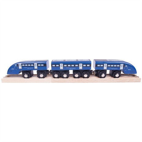 High Speed One Train + 2 track pieces BJT475 - educationaltoys.ie