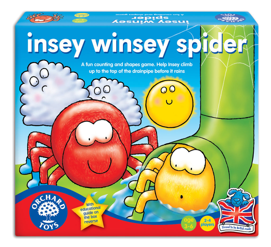 Orchard Toys - Insey Winsey Spider - educationaltoys.ie