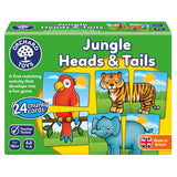 Orchard Toys Jungle Heads & tails - educationaltoys.ie