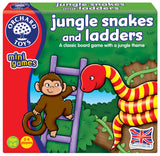 Orchard Toys Jungle Snakes & Ladders - Educationaltoys.ie