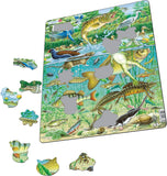Larsen Pond puzzle 50 pce FH19 - educationaltoys.ie