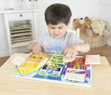 Melissa & Doug Latches Board - Early Learning - Educationaltoys.ie