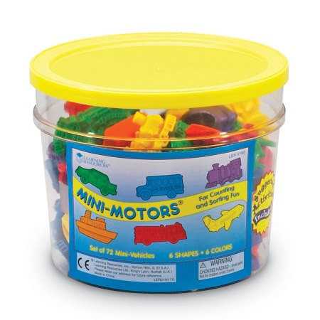 Learning Resources Mini Motors Counters - educationaltoys.ie
