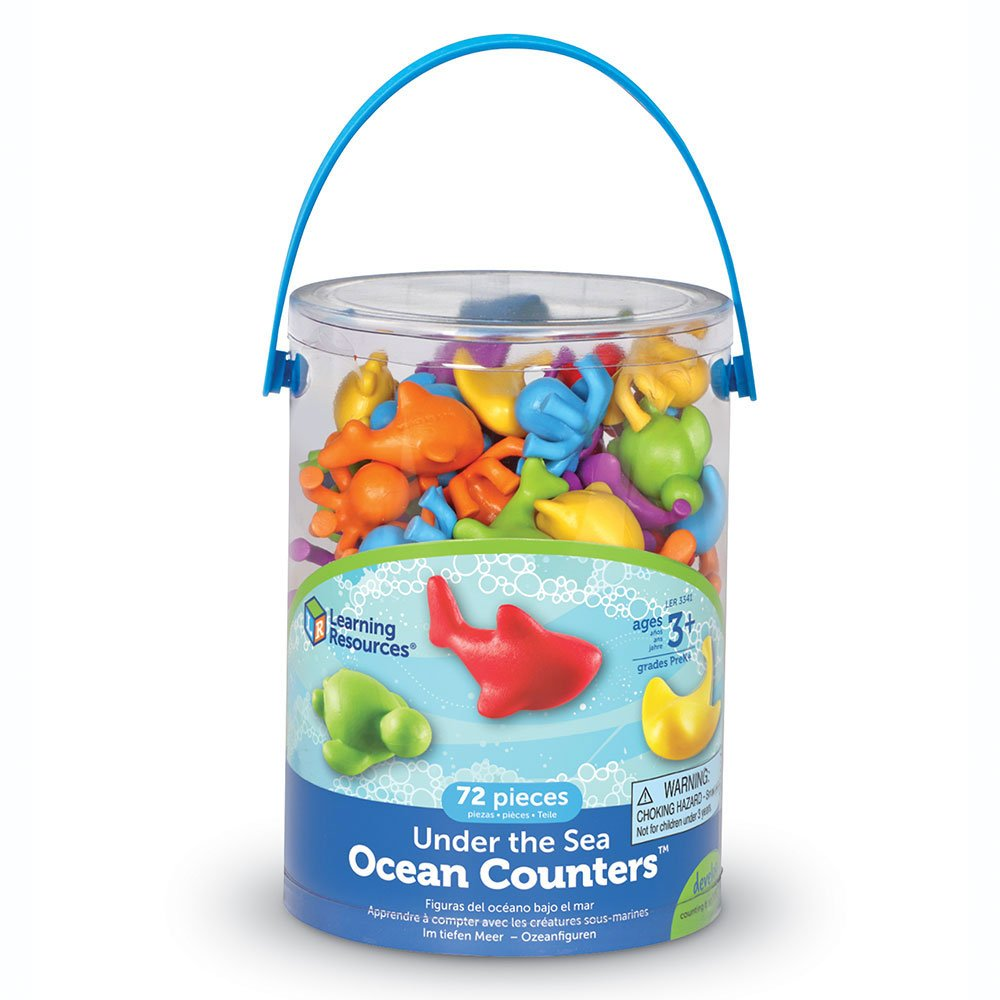 Learning Resources Under The Sea Counters - educationaltoys.ie