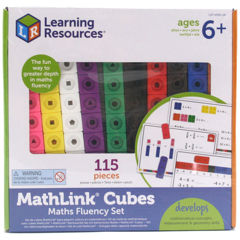 Mathlink Cubes Maths Fluency set LSP 4299 - educationaltoys.ie