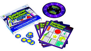 Learning Resources Rainbow Fraction Bingo - educationaltoys.ie