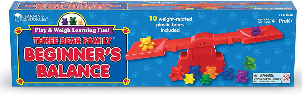 Learning Resources Three Bear Family Beginner's Balance  - educationaltoys.ie