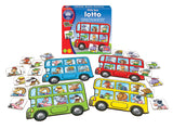 Little Bus Lotto is a new mini game from orchard Toys - Educationaltoys.ie