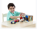 Melissa & Doug Lock and Roll Rescue Garage - educationaltoys.ie