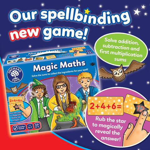 Orchard Toys Magic Maths - educationaltoys.ie