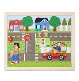 Wooden Magnetic Matching Picture Game - educationaltoys.ie